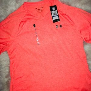 Under Armour Shirts - Under Armour Bundle of 2 V neck Tech Tee Shirts XL